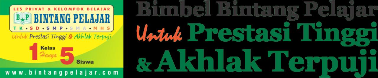 BIMBEL BINTANG PELAJAR - Bimbel Islami SD-SMP-SMA